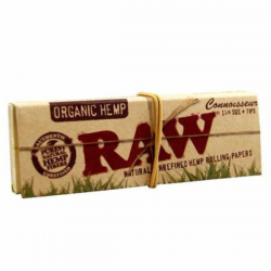 Papel RAW Connoisseur Orgánico 1 1/4
