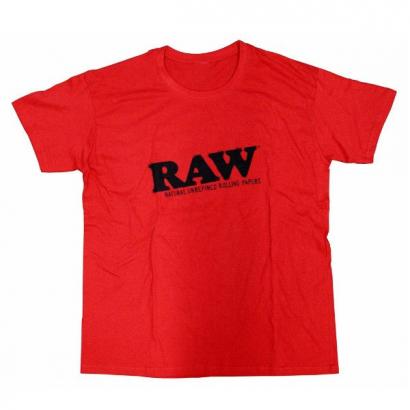 Camiseta RAW Roja RAW TEXTIL