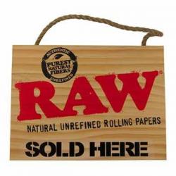 Cartel RAW Madera