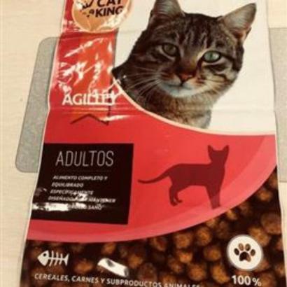 Bolsa Pienso Gatos Cat King 14 kg 56x91cm OCULTACIÓN