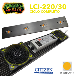 Luminaria LED Grow 220w 3000K (Monster Series)