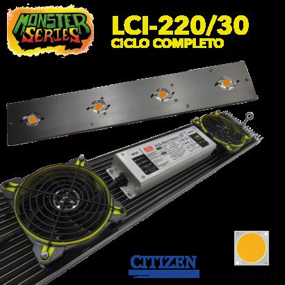 Luminaria LED Grow 220w 3000K (Monster Series) LED Grow