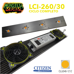 Luminaria LED Grow 260w 3000K (Monster Series)