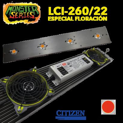 Luminaria LED Grow 260w 2700K (Monster Series) LED Grow