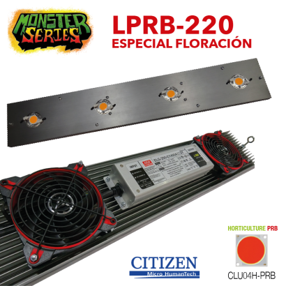 Luminaria LED Grow 220w PRB (Monster Series) LED Grow