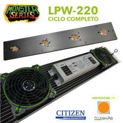 Luminaria LED Grow 220w PW (Monster Series)