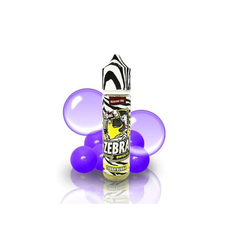 E-Liquid Sweetz Zubba Bubba 50ml 0mg (Booster) Zebra Juice OTRAS MARCAS