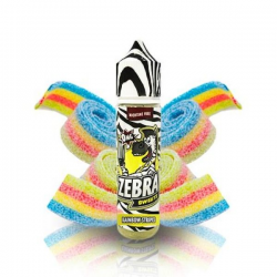 E-Liquid Sweetz Rainbow Strips 50ml 0mg (Booster) Zebra Juice
