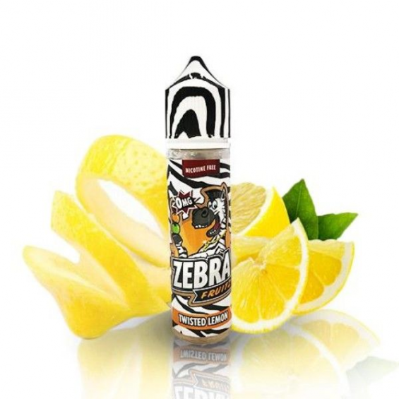 E-Liquid Fruitz Twisted Lemon 50ml 0mg (Booster) Zebra Juice  ESENCIAS ZEBRA JUICE