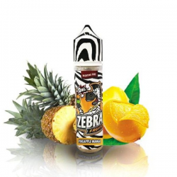 E-Liquid Fruitz Pineapple Mango 50ml 0mg (Booster) Zebra Juice  ESENCIAS ZEBRA JUICE