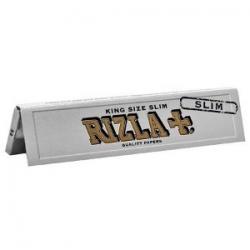Papel Rizzla Plata Slim (1librito)