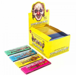 Caja Papel Transparente King Size Lion Rolling Circus (50 Unid)  LION ROLLING CIRCUS