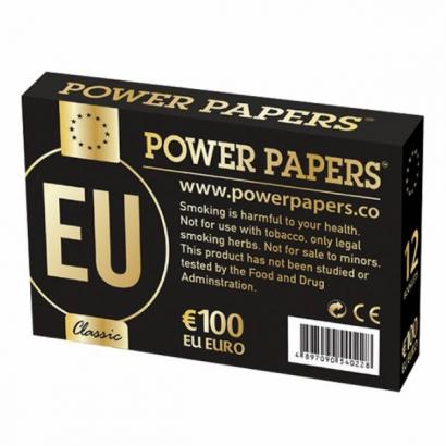 Caja Papel Power Papers Euro Con Filter Tips (12 unid) OTROS MODELOS