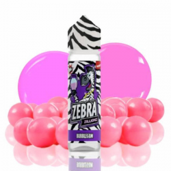 E-Liquid Zillionz Bubblegum 50ml 0mg (Booster) Zebra Juice  ESENCIAS ZEBRA JUICE