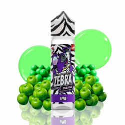 E-Liquid Zillionz Apple 50ml 0mg (Booster) Zebra Juice  ESENCIAS ZEBRA JUICE