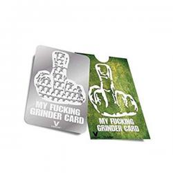 Grinder tarjeta My Fucking Grinder  GRINDERS 2 PARTES