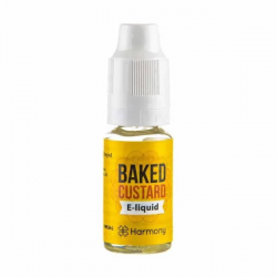 E-Liquid Baked Custard 30mg CBD 10ml Harmony Harmony E-Liquid con CBD