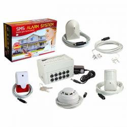 SMS Alarm Controller Kit Completo GSE  SEGURIDAD Y VIGILANCIA