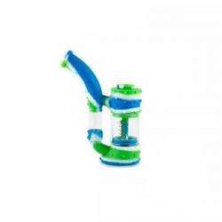 Pipa Stack Azul y Verde  BUBBLERS Y OILERS