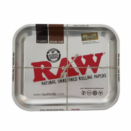 Bandeja RAW Cromada metal mediana RAW BANDEJAS