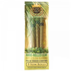 Papel King Palm Cones - 3 Slim rolls  Blunts