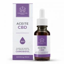 Aceite CBD 20% 30 ml Cannactiva  Aceite con CBD