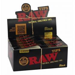 Caja Boquillas RAW Black (50uds) RAW BOQUILLAS Y FILTROS