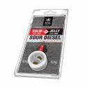 Solid 10% CBD Vs Jelly 22% CBD Sour Diesel 0.5 + 0.5  Plant of Life