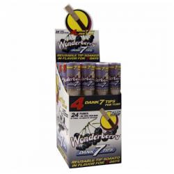 Filtros Wonderberry Dank 7 Tips 1 caja 24 unid CLIPPER BOQUILLAS Y FILTROS