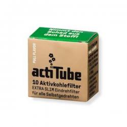 Filtro Actitube Extra Slim Caja 10 uni  BOQUILLAS Y FILTROS