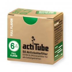 Filtro Actitube Extra Slim Caja 50 uni  BOQUILLAS Y FILTROS