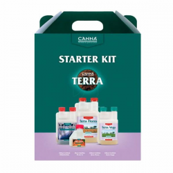 CANNA Terra Starter Kit CANNA CULTIVO MINERAL