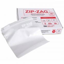Bolsa Zip Zag L (250 gr) Paquete 150 unidades  BOLSAS DE CONSERVACIÓN