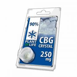 Crystal 90% CBG en polvo 250mg Plant Of Life  Cristales de CBD