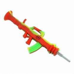 Collector ak47 tip titanio 24cm verde-rojo  PIPAS