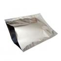Bolsa Sellable Metalizada Plata 50x55 cm