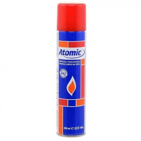 Gas Atomic 300ml  ACCESORIOS Y HERRAMIENTAS EXTRACTORES BHO