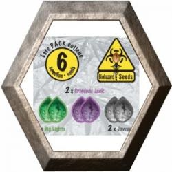 Pack Coleccionista -1- 6 semillas Biohazard Seeds BIOHAZARD SEEDS BIOHAZARD SEEDS