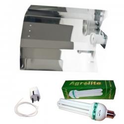 Kit CFL Agrolite Crecimiento 105w Shiny Liso  BAJO CONSUMO