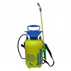 Pulverizador presión Previa 5lt amarillo/azul
